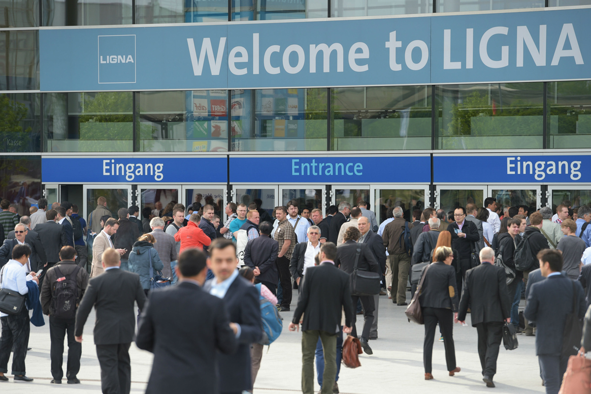 Visit us at the Ligna fair in Hannover (27-31 May 2019)